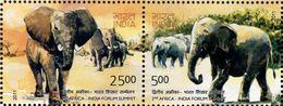 India - 2011 - 2nd Africa - India Forum Summit - Mint Stamp Set - India