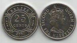 Belize 25 Cents 2007. UNC KM#36 - Belize