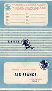 AIR FRANCE Formulaire De Satisfaction - Papiere
