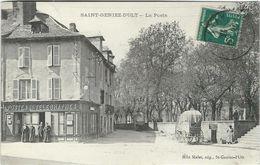 Aveyron : St Geniez D'Olt : La Poste - Francia