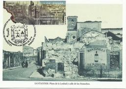 ESPAÑA 2016 - 75 Aniversario Incendio De La Ciudad De Santander - 1931-Heute: 2. Rep. - ... Juan Carlos I