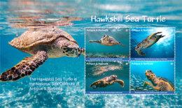 Antigua And Barbuda-2017  Fauna And Flora, Marine Life, Turtles-I70046 - Marine Life