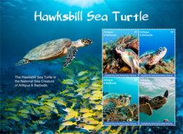 Antigua And Barbuda-2017  Fauna And Flora, Marine Life, Turtles-I70045 - Marine Life