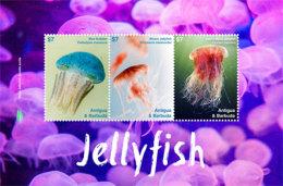 Antigua And Barbuda-2017 Fauna And Flora, Marine Life, JELLYFISH-I70048 - Marine Life