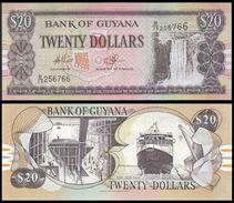 Guyana 20 DOLLARS ND 2009 Sign.14 P 30e UNC - Guyana
