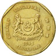 Singapour, Dollar, 1995, Singapore Mint, SUP, Aluminum-Bronze, KM:103 - Singapour