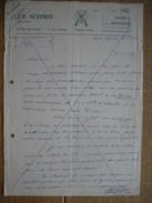 ESCH-SUR-ALZETTE - Lettre 1961- J.P. SCHMIT - Armurier - Aremes Et Munitions - Luxembourg