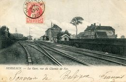 HERSEAUX(GARE) - Cartes Postales