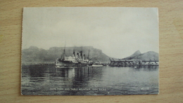 SOUTH AFRICA  POST CARD FROM  CAPE TOWN USED SEND - Cartoline