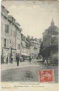 Aveyron : St Geniez D'Olt, Rue Du Commerce - Frankreich