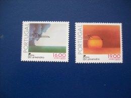 Portugal: Timbres Poste Aérienne N° 12 Et 13 (YT) Neufs - Poste Aérienne