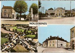 41E5  ---  23   NOUZERINES        B7   Coq - Marcophilie (Lettres)
