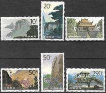 Chine / China (1995) - Montagnes De Jiuhua. MNH. - 1949 - ... República Popular