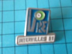 Pin1717 Pin´s Pins / Beau Et Rare : MEDIAS / EMISSION DE TELE INTERVILLE 91 VIRE - Médias