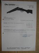 HAMBURG 1968 - OTTO SCHLÜTER - Jagd - Sport- Und Verteidigungswaffen - Munition - Allemagne