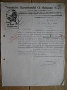 HENGELO 1950 - TWENTSCHE WAPENHANDEL G. HOLTKAMP & Zn. - Geweermakers - Pays-Bas