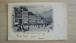 NORGE NORVEGIA  POST CARD FROM BERGEN USED SEND - Norvegia