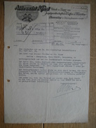 HUNSTIG Bei DIERINGHAUSEN 1943 - ALBRECHT KIND - Fabrik U. Lager Von Jagdgerätschafte, Waffen U. Munition - Allemagne