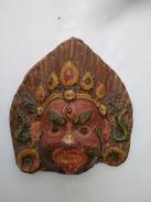 Masque Indonésien De Bali. Masque En Papier Mâché Pour Théâtre - Asian Art