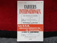 Cahiers Internationaux (N° 108 Novembre 1959) éditions Centrale De La Presse - Politique