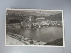 CPA PHOTO 01 GENISSIAT  ENSEMBLE DES INSTALLATIONS  RIVE DROITE  1948 - Génissiat