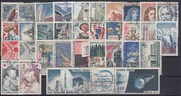 FRANCIA 1965 Nº 1435/1467 AÑO COMPLETO USADO - Francia