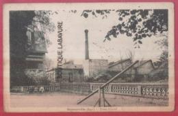 27 - BERNOUVILLE--Usine Giraud---cpsm Pf - Francia