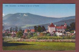 Neuchâtel - COLOMBIER - Château Et Vue Sur La Tourne - NE Neuchatel