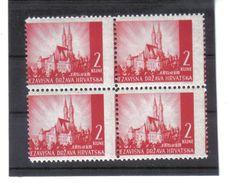 GUT1206  KROATIEN  (HRVATSKA) 1941 MICHL 42 Verzähnt  Siehe ABBILDUNG - Kroatien