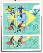 Soccer Football Madagascar Malagasy KB 1955/1986  8A + 8B 1998 World Cup France MNH ** 8 Scans - 1998 – France