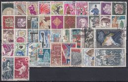 FRANCIA 1968 Nº 1542/1581 AÑO COMPLETO USADO - 1960-1969