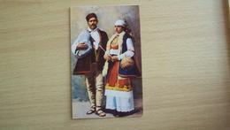 BULGARIA BULGARIE  POST CARD COSTUMI NOT USED - Bulgaria