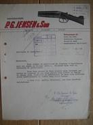 KOBENHAVN - COPENHAGE (DANEMARK) 1946 - P.G. JENSEN & Son -Bossemagere - Vaaben - Fiskeri - Sport - Autres