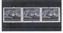 GUT1204  KROATIEN  (HRVATSKA) 1943/44 MICHL 99 Verzähnt  Siehe ABBILDUNG - Kroatien