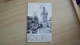 CECO SLOVACCHIA  POST CARD FROM PRAGA PRAG USED - Slovacchia