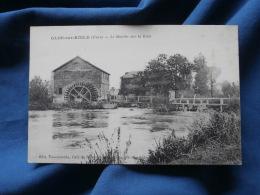 Glos Sur Risle Le Moulin Sur La Risle - Tourneroche éd. Circulée 1924 L323 - Francia