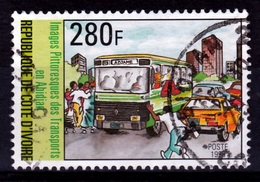 Ivory Coast, African Transports, 1996, VFU - Ivory Coast (1960-...)