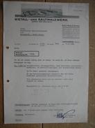 Brief 1940- LANGENBERG - METALL - UND KALTWALZWERK - Allemagne