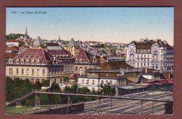 Neuchâtel - LA CHAUX-DE-FONDS - Gare Et Train - NE Neuchatel