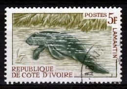Ivory Coast, African Manatee (Trichechus Senegalensis), 1963, VFU - Ivory Coast (1960-...)
