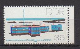 """DDR / Antarktisforschungsstation Der DDR """"Georg Forster """" / MiNr. 3160 - Ungebraucht"""