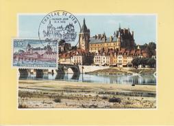 Carte Maximum  1er  Jour   Chateau  De   GIEN    1973 - Cartes-Maximum