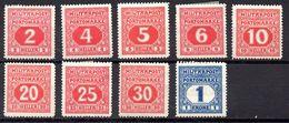 BOSNIA.  AÑO 1916. TASAS Y 14/25 (MH) INCOMPLETO - Bosnia And Herzegovina