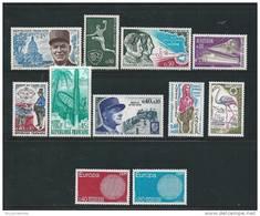 France Timbres Neuf ** De 1970 N°1629   A  1639 - Neufs