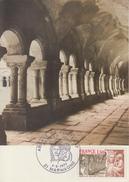 Carte  Maximum  1er  Jour     Abbaye   De  Fontenay     MARMAGNE   1977 - Cartes-Maximum