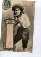 BERGERET - Les Mois Comiques, OCTOBRE - Postée 4-10-1904 - Bergeret