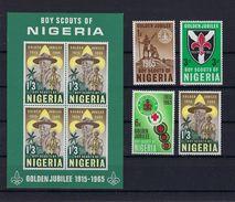 Scouts NIGERIA MNH ** POSTFRIS ZONDER SCHARNIER SUPERBE - Timbres