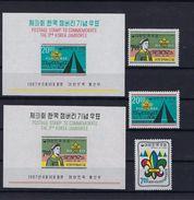 Scouts KOREA MNH ** POSTFRIS ZONDER SCHARNIER SUPERBE - Timbres