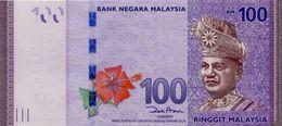 * MALAYSIA 100 RINGGIT ND (2012) P-56a UNC [MY153a] - Malaysia