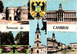 SOUVENIR DE CAMBRAI ... MULTIVUES ... BLASON ... 1960 - Cambrai